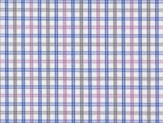 Oxford blue-pink-brown