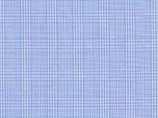 2Ply: fine blue checks (glencheck)