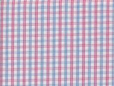 2Ply: blue-pink checks