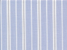 Oxford blue with white and pale grey stripes