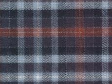 Flannel: dark checks multicoloured