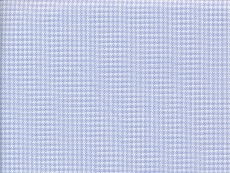 2Ply: houndstooth, light blue