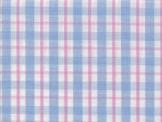 2Ply: plue and pink checks