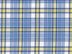 Oxford blue-yellow checks