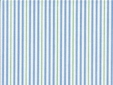 2Ply: fine light blue and green stripes