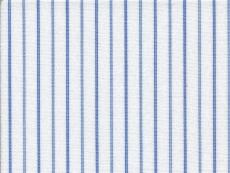 2Ply: blue stripes with diamond pattern