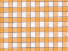 2Ply: orange-white checks