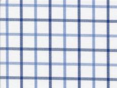 Dessin: blue with dark blue checks