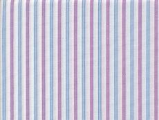 Vollzwirn: Streifen hellblau-lila