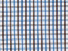 Dessin: brown-blue checks