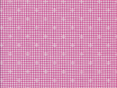 2Ply: pink checks with star pattern