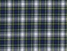 Flannel: blue green yellow checks