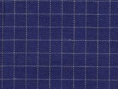 Flannel: dark blue checks