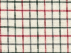 Viyella: red green checks