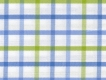 2Ply: large blue, green checks