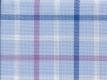 Vollzwirn: Karo groß blau violett