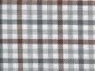 Flannel: brown-olive checks