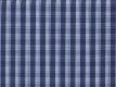 Vollzwirn: Karo dunkelblau-hellblau