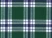 Flannel: blue-green checks