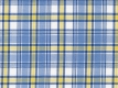 Oxford blue-yellow checks