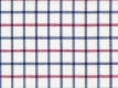 Flanel: blue and red checks