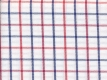 2Ply: red and blue checks