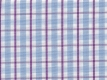 2Ply: blue and purple checks
