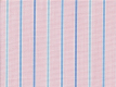 2Ply: pink with blue stripes